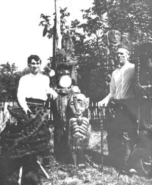 1962. U bašti sa Milanom