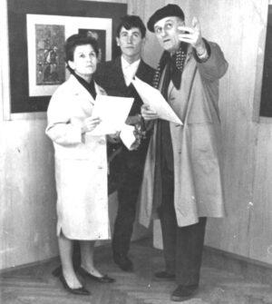 1964. Prva izložba sa Tabakovićem