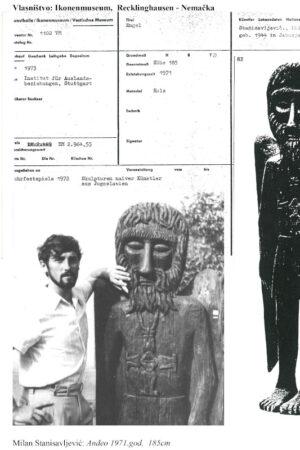 1971. Anđeo 185cm - Muzej Recklinghausen - Nemačka