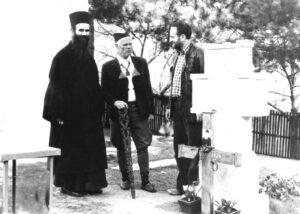 1979. Spomenik ocu Justinu - Ćelije sa arh. Peđom Ristićem