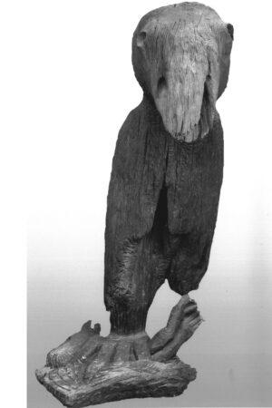 1980. Ptica sa plenom 180cm 2x3