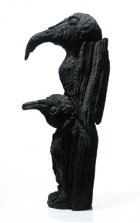 1985. Ptice 63x28x18cm