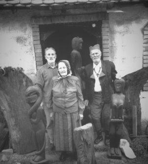 1990. Milan u Jabučju sa majkom Stanom i ocem Dragišom
