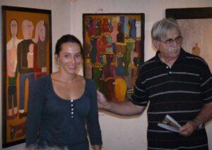 2011. Prva samostalna izložba u kući Đ. Jakšića sa Ršumom